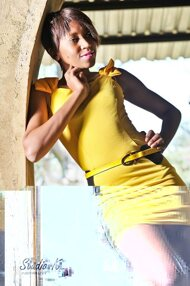 promotional model: Nthabiseng Patience S
