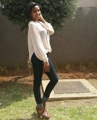 promotional model: Andisiwe G