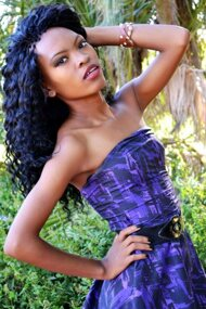 promotional model: Yvonne Ntombizodwa F
