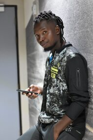 promotional model: Themba M
