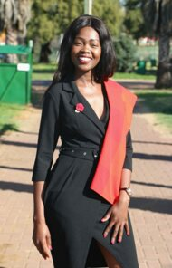 promotional model: Nthabiseng L