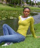 promotional model: Monica Thandokazi T in Cape Town