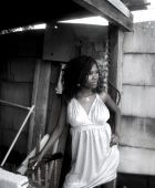 promotional model: bessie N in Johannesburg
