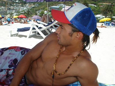 promotional model: Shaafik N in Cape Town
