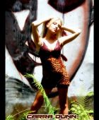 promotional model: Cara D in Durban