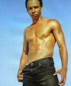 promotional model: Malik J in Cape Town