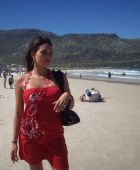 promotional model: Janine H in Cape Town