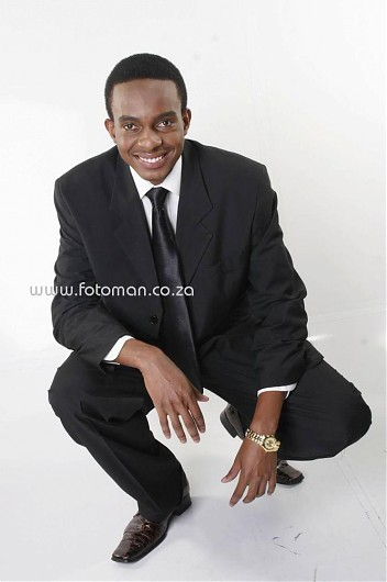 promotional model: Jermaine C in Johannesburg