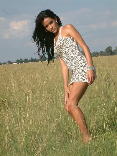 promotional model: Adelene K in Johannesburg