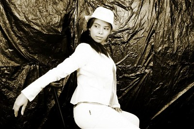 promotional model: Shereen S in Johannesburg