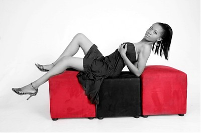 promotional model: Nthabiseng M in Johannesburg
