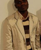 promotional model: Ndumiso M in Cape Town