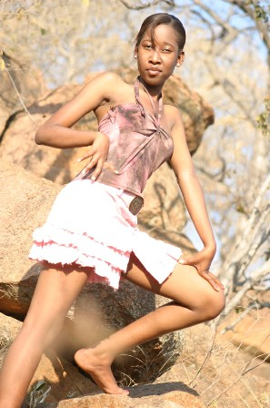 promotional model: Bokani Bianca K in Pretoria