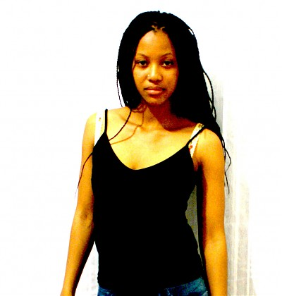promotional model: Peaches _ in Johannesburg