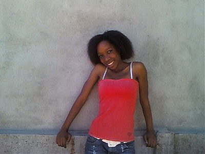 promotional model: Zenande N in Cape Town