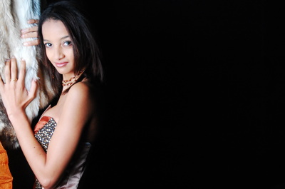 promotional model: Jacqueline H in Cape Town