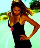 promotional model: Lisa C in Cape Town
