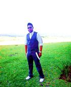 promotional model: Justin N in Durban