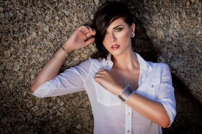 promotional model: VICKY L in Cape Town