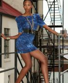 promotional model: Nokwazi Z in Cape Town