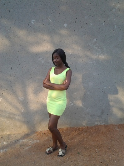 promotional model: happiness M in Nelspruit