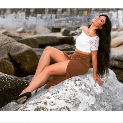 promotional model: Marli M in Cape Town