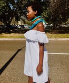 promotional model: Lethukwenama L in Cape Town