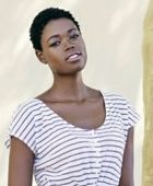 promotional model: Aretha N in Cape Town