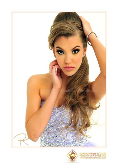 promotional model: Caitlin S in Durban