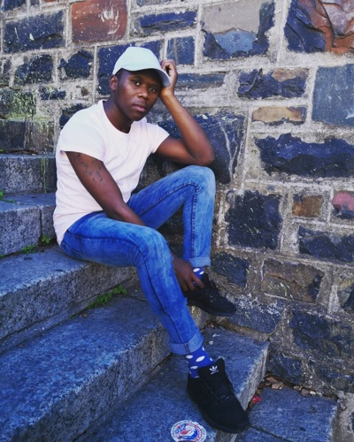 promotional model: Siphosethu M in Cape Town