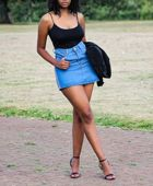 promotional model: Katlego M in Johannesburg