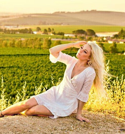 promotional model: Kayla A in Cape Town