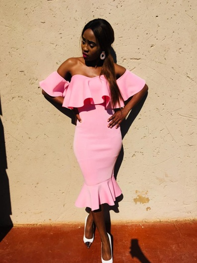 promotional model: Fortunate M in Bloemfontein