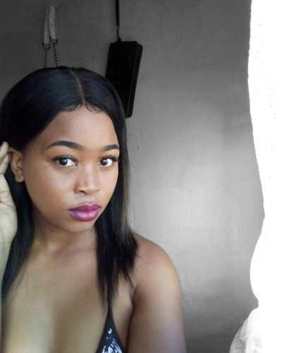 promotional model: Anelisa S in Cape Town