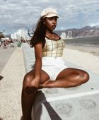 promotional model: Prisca B in Cape Town