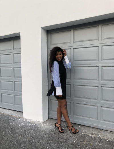 promotional model: Anathi D in Cape Town