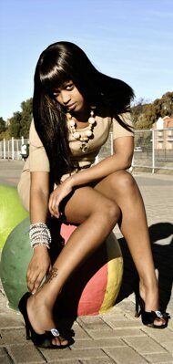 promotional model: Keabetswe S
