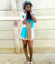 promotional model: Relebohile M