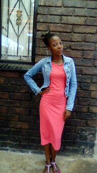 promotional model: NTOMBIZODWA S