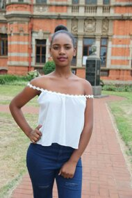 promotional model: Snethemba Q