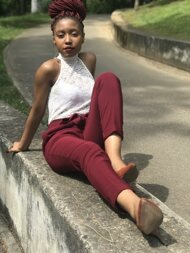 promotional model: Andile Cynthia D
