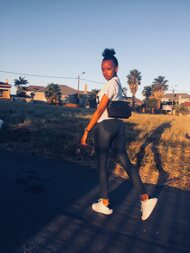 promotional model: Aphiwe M