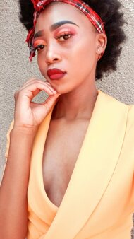 promotional model: Tshepiso A