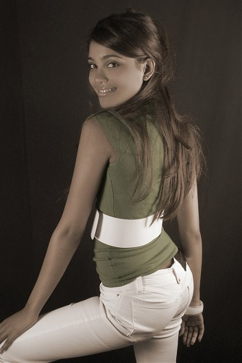 promotional model: Kaylene F in Durban
