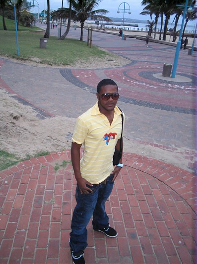 promotional model: Cassius N in Johannesburg