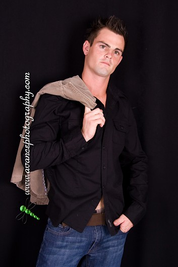 promotional model: Andries K in Durban