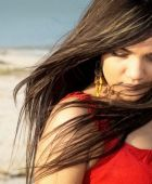 promotional model: Cassie S in Cape Town