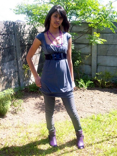 promotional model: Fazlin E in Cape Town