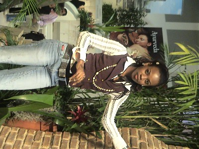 promotional model: Omo S in Cape Town