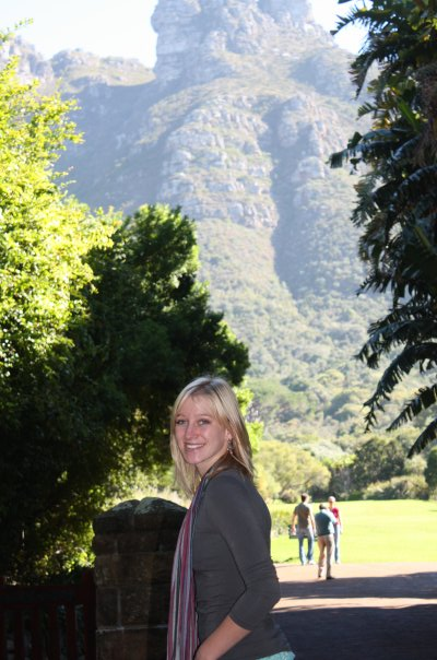 promotional model: Courtnee C in Cape Town